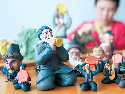 Clay Figurine Zhang