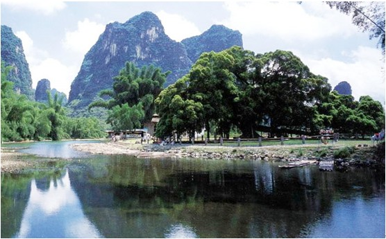 Cycling from Guilin to Yangshuo