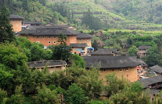 Magnificent Earth (Tulou) Building in Fujian