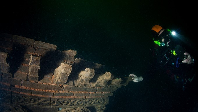 Hangzhou thousands of islets diving trip for ancient underwater city