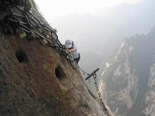 Adventure tour to Mount Huashan in early winter