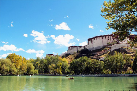 Holy palace in dream - Tibet Lhasa Potala Palace