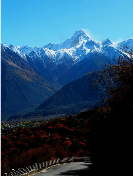 Experience Namcha Barwa The Great Mountain Pierced Into The High Blue Sky