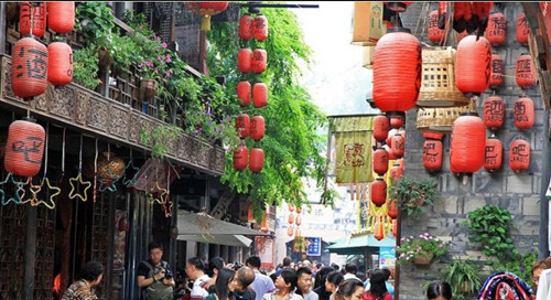 Chengdu Ancient Commercial Street—Jinli Old Street