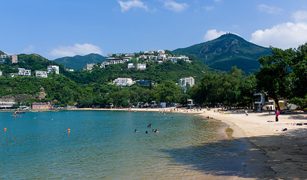 Stanley - an attractive seaside town in the south of Hong Kong