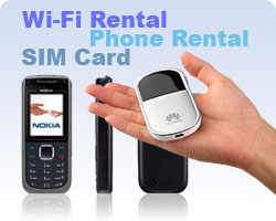China SIM Card, China Wi-Fi Phone Rental