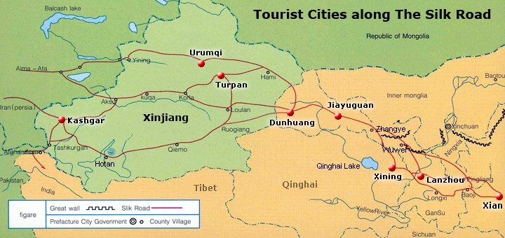 here we list each destinations travel guide for your reference with this comprehensive travel information you can make out a silk road trip which is