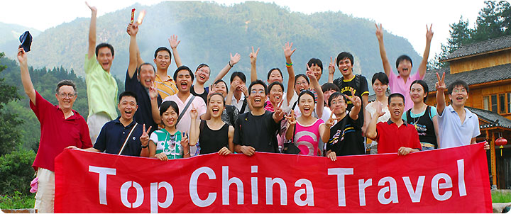 Sales Team of Top China Travel