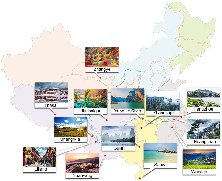 Top 10 Tourist Cities in China