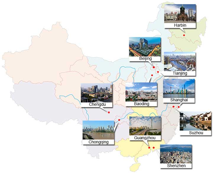 Top 10 Largest Cities in China