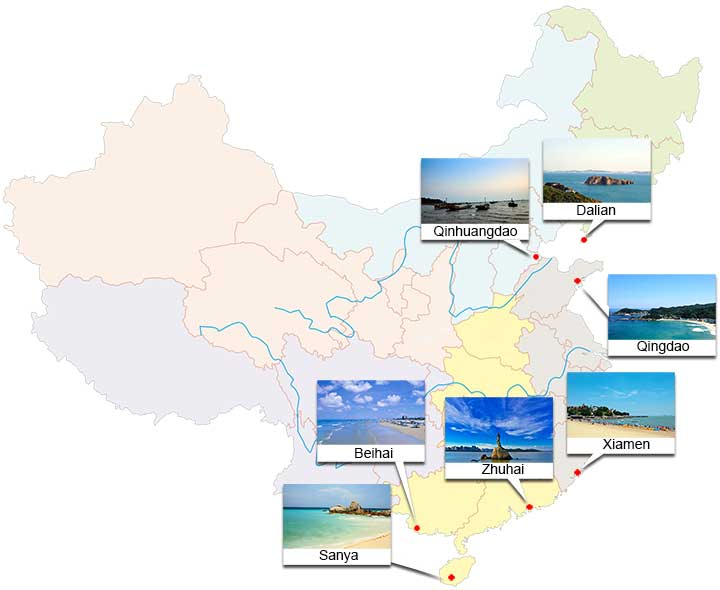 Top China Coastal Cities