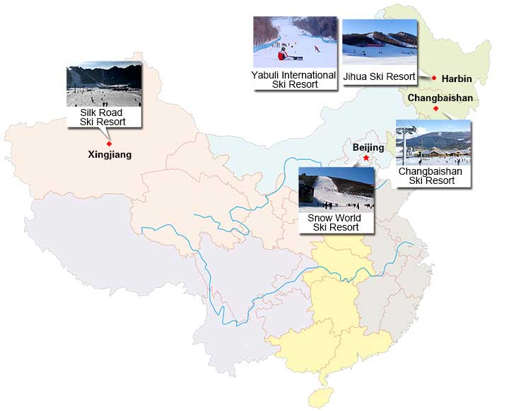 Top Ski Resorts in China