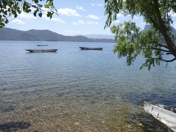 The Lake in my dream — Lugu Lake