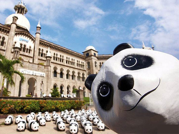 panda diplomacy exhibition