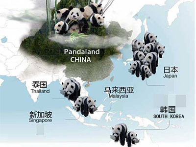 Giant Panda Zoos in Asia