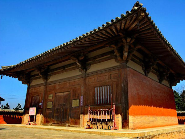 famous ancient chinese wooden architecture pagoda palace or temple
