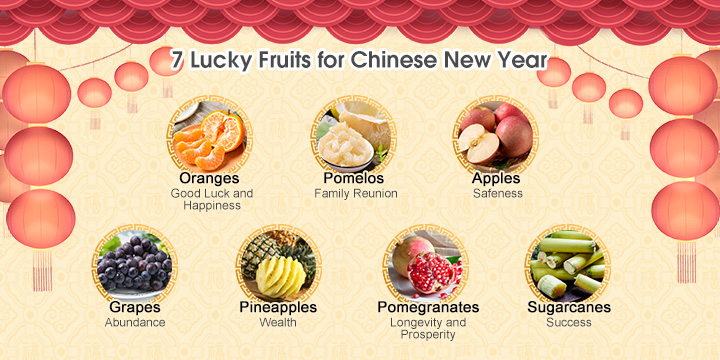 7 lucky fruits for chinese new year lucky chinese new year foods 7 lucky fruits for chinese new year