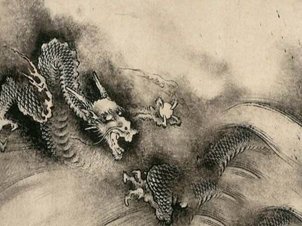 Dragon in Chinese Arts of Sculpture, Painting & Embroidery etc
