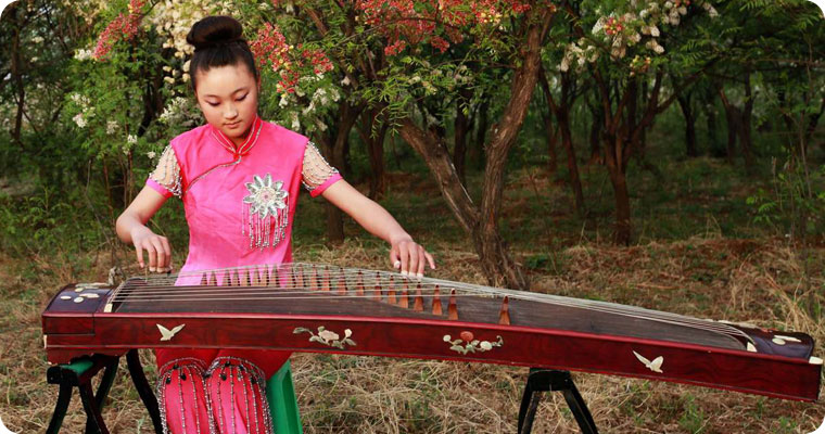 Traditional Chinese Musical Instruments for Ancient Music