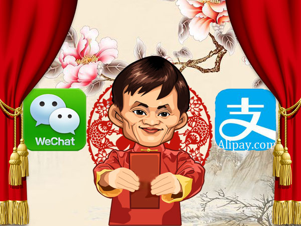 How to Send Red Envelop via Wechat & Alipay
