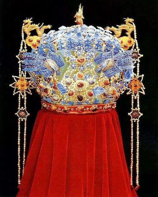 chinese phoenix coronet for empress dowager xiaojing