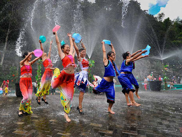 the water-splashing festival