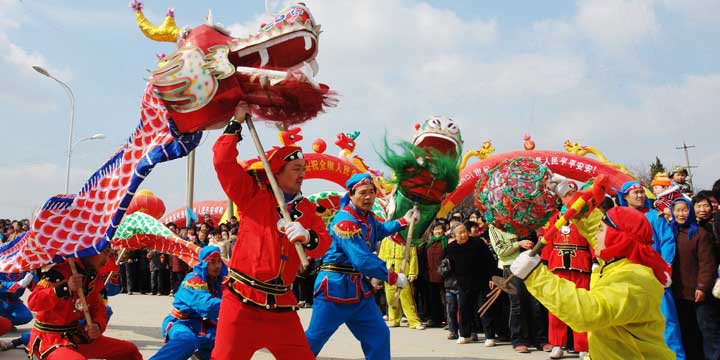 Chinese Spring Festival Chunjie Origin Customs Activity Celebration