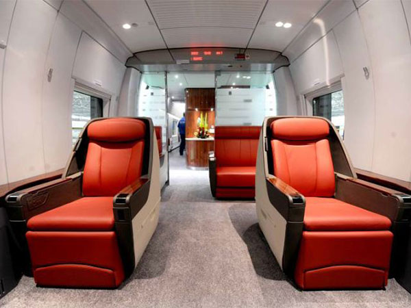 high-speed train VIP seats