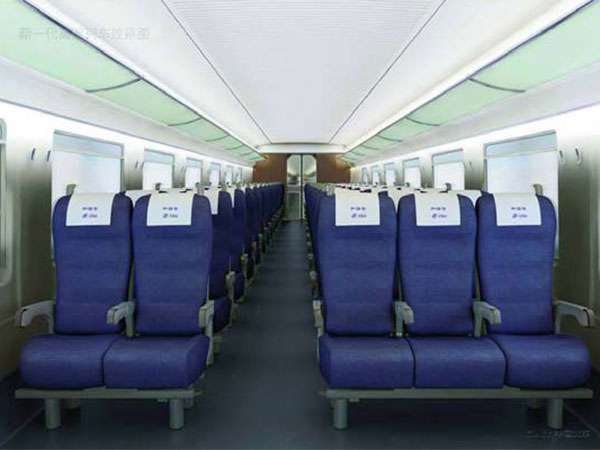 China high-speed Train Cars and Seats