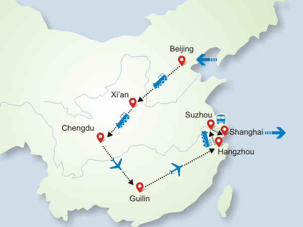 16 Days China Highlight Tour