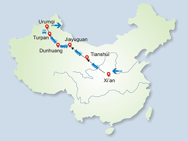9 Days Silk Road Adventure by China Orient Express