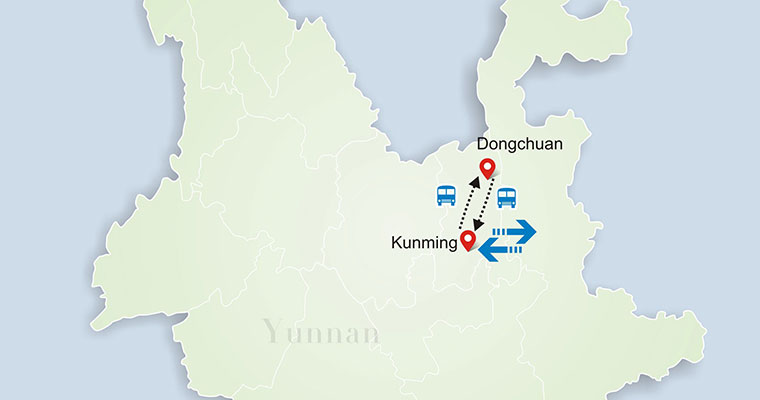 Dongchuan red land tour 6 days yunnan tour package gumiabroncs Choice Image