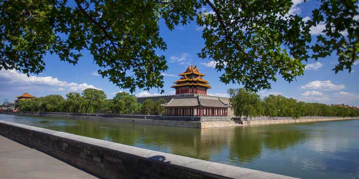 The Turret of Forbidden City