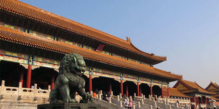 Forbidden City-Bronze Lion