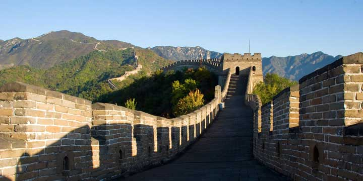 landmarks of beijing--badaling great wall