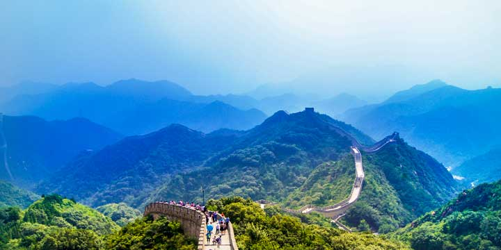 The great wall--plan a trip to China from Czech Republic
