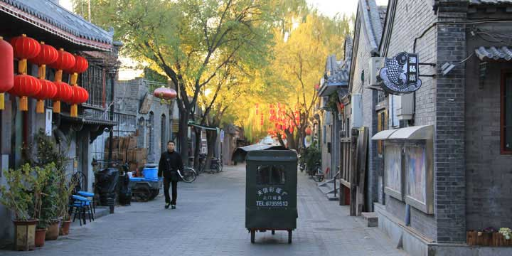 Hutong tour by Richshaw