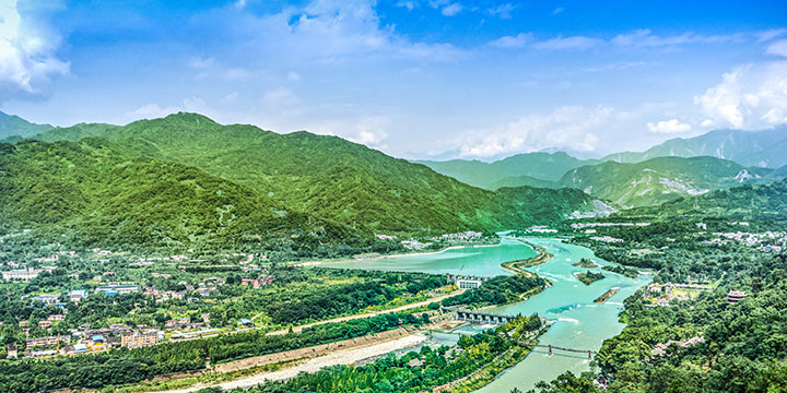 7 Wonders of China - Dujiangyan Irrigation System
