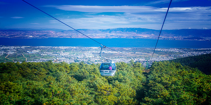 Cableway of Mt.Cangshan