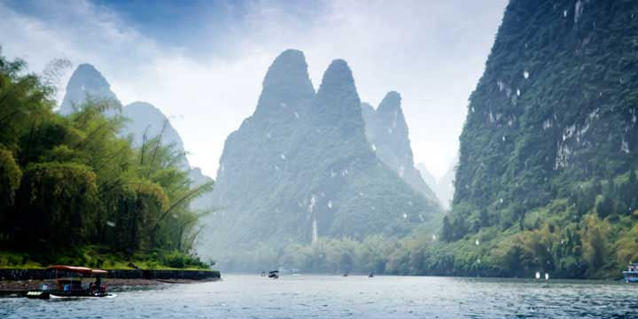 Most Famous Cities in China - Guilin