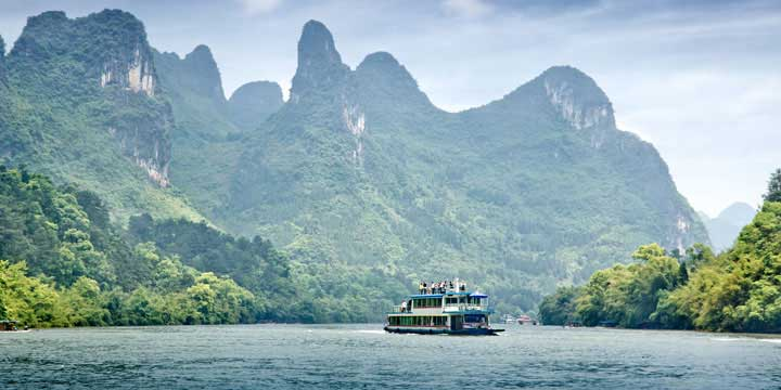 Top 10 China Attractions - Li River in Guilin