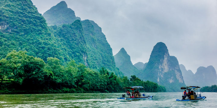Li River --plan a trip to China from Czech Republic