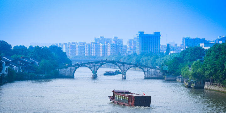 The Longest Canal in China-The Grand Canal