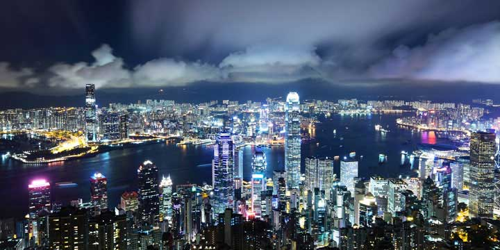 Hong Kong City View - Victoria Harbour