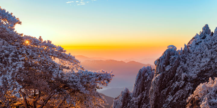 Top 10 China Attractions - Yellow Mountain