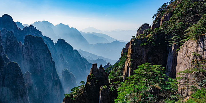 Mount Huangshan-plan a trip to China from Russia