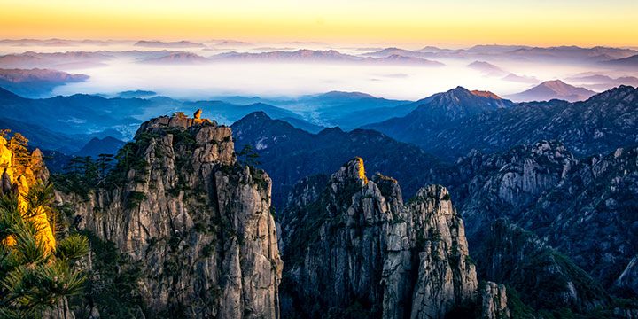 Mount Huangshan-plan a trip to China from Poland