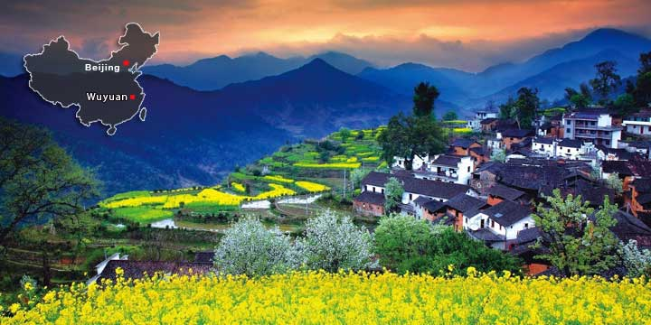 The Seven Most Beautiful Villages and Towns in China-Wuyuan