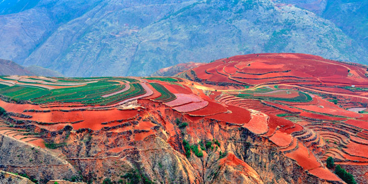 Autumn of Dongchuan Red Land