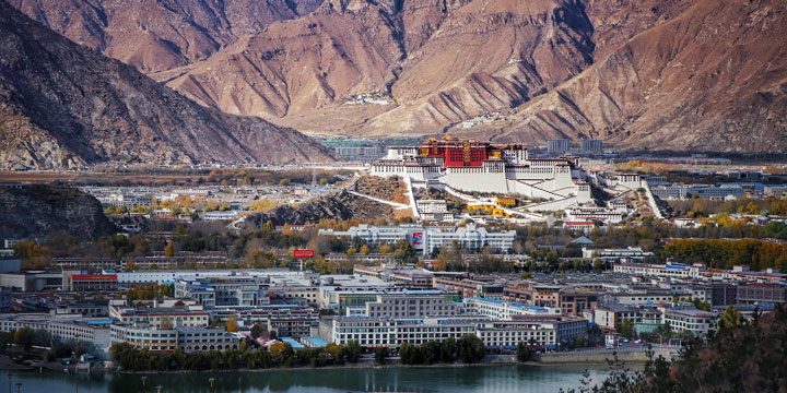 Lhasa City View